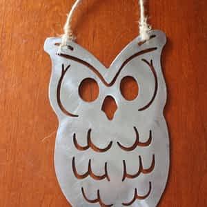 Owl Metal Art