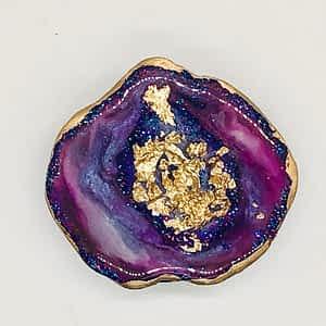 Geode Resin Pop Socket
