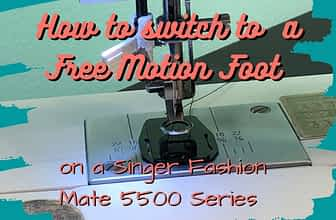 Free Motion Foot