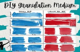 DIY Watercolor Granulation Medium
