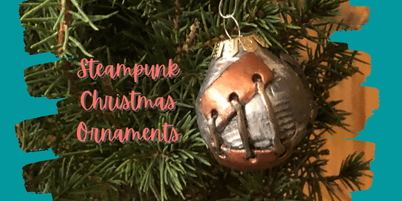 Steampunk Christmas Ornaments | DIY Decorate Your Tree | Polymer Clay
