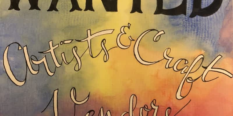 WANTED: ISO Artist & Craft Vendors – Magic Lettering