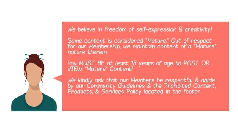 Mature Content Disclaimer