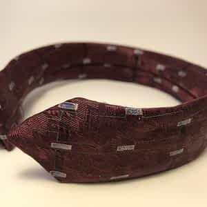 Silk Tie Headband