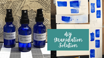 Granulating Solution & Medium for Watercolor