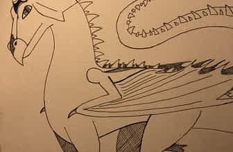 Dragon Inktober