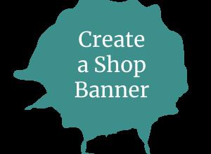 Create a Shop Banner