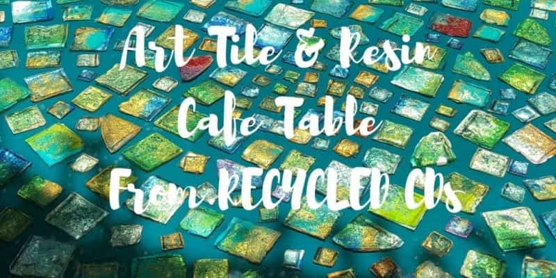 Awesome Art Tile Resin Cafe Set Tutorial