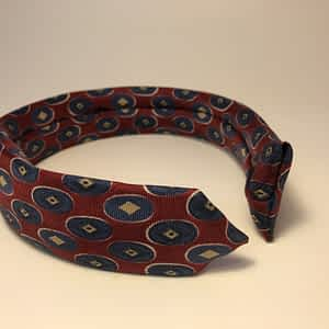 Repurposed Necktie Headband