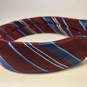 Headband Repurposed from Men's Neckties