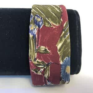 Fabric Cuff Bracelet from Men's Tie