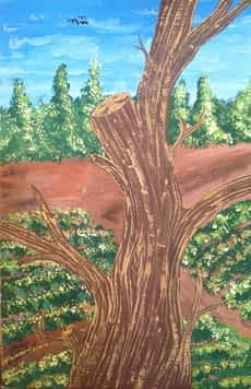 Tree Painting Samir Artist
