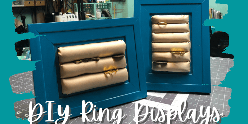DIY Ring Display   Craft Fair Display Idea