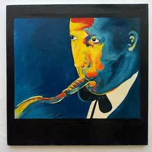 Saxophone Player Painting Samir Artist