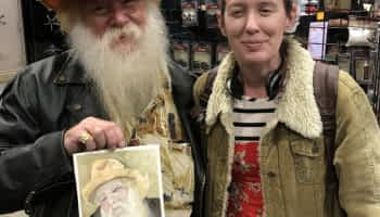 Plein Air Portraits at the Great American Outdoor Show