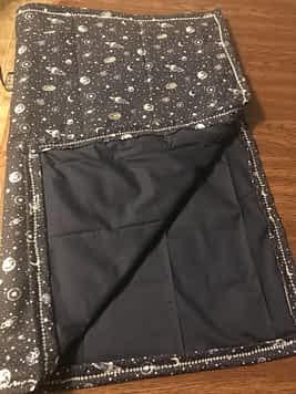 Galaxy boy blanket