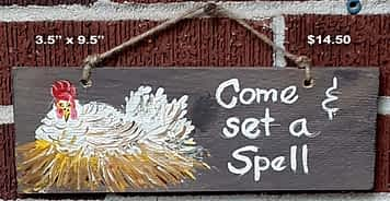 Hen-Come Set a Spell