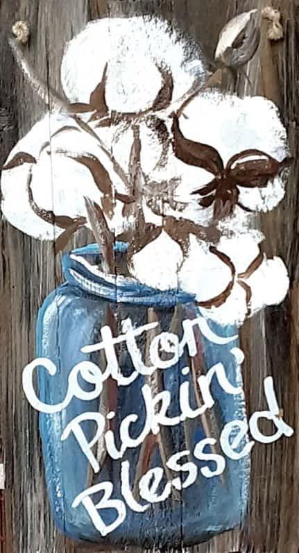 Cotton Picken Blessed